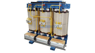 Treatment measures for rusted dry type power transformer